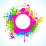 Holi Background Royalty Free Stock Photo
