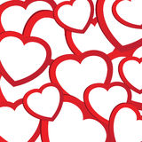Illustration of holiday background with valentines Royalty Free Stock Images