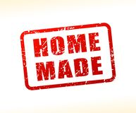 Home made text buffered Royalty Free Stock Images