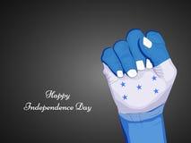 Illustration of Honduras Independence Day background Stock Photo