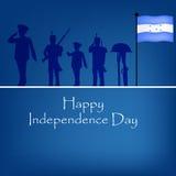 Illustration of Honduras Independence Day background Stock Image