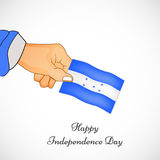 Illustration of Honduras Independence Day background Royalty Free Stock Image