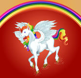 An illustration of horse Pegasus. For your business or personal use Royalty Free Stock Photography