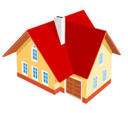 Illustration of house Royalty Free Stock Images