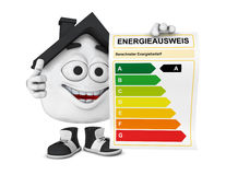 House energy use Stock Photography