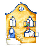 Illustration of house for mice Royalty Free Stock Photos