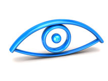 Illustration of Human eye Royalty Free Stock Image
