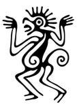 Illustration i mayastil Arkivbild