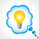 Illustration of idea bulb Stock Image