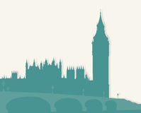 Illustration, image of London. Stock Photo