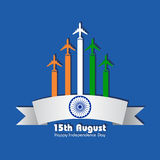 Illustration for independence day of india. Stock vector Stock Images