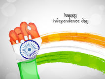 Illustration of India Independence Day Background Stock Images