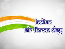 Illustration of Indian Airforce Day Background. Illustration of elements of Indian Airforce Day Background Royalty Free Stock Photography