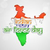 Illustration of Indian Airforce Day Background. Illustration of elements of Indian Airforce Day Background Stock Photo
