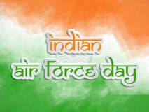 Illustration of Indian Airforce Day Background. Illustration of elements of Indian Airforce Day Background Stock Photography