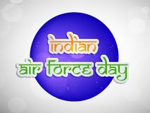 Illustration of Indian Airforce Day Background. Illustration of elements of Indian Airforce Day Background Stock Images