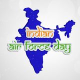 Illustration of Indian Airforce Day Background. Illustration of elements of Indian Airforce Day Background Stock Image