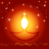 Illustration of Indian Diwali festival Stock Photo