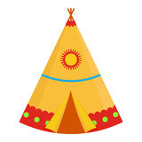 Illustration indienne de tipi Images libres de droits