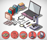 Illustration of info graphic medical concept Royalty Free Stock Photo