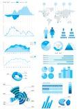 Illustration infographic de groupe Image stock