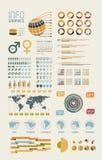 Illustration infographic de groupe. Photo stock