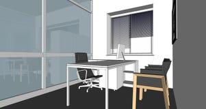 Illustration of interior Stock Photography