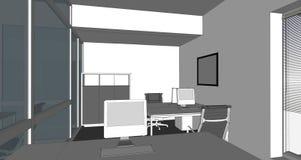 Illustration of interior Stock Image