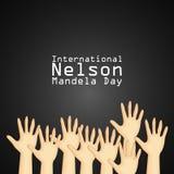 Illustration of International Nelson Mandela Day Background. Illustration of elements of international Nelson Mandela Day background Royalty Free Stock Images