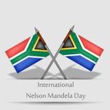 Illustration of International Nelson Mandela Day Background. Illustration of elements of international Nelson Mandela Day background Stock Photo