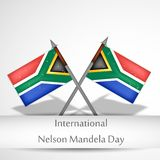 Illustration of International Nelson Mandela Day Background. Illustration of elements of international Nelson Mandela Day background Royalty Free Stock Photos