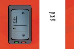 illustration iPod Royaltyfria Bilder