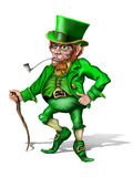 Cheeky Leprechaun Stock Photo