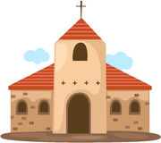 Christian church royalty free illustration