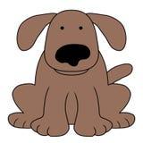 Dog illustration. Illustration of an isolated dog royalty free illustration