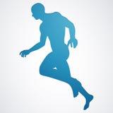 Male jogger Stock Photo