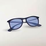 Illustration of isolated retro eye glasses on white background Stock Image