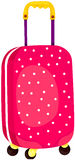 Rolling luggage Royalty Free Stock Photo