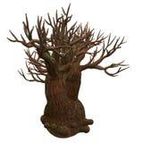illustration isolerad tree Royaltyfria Bilder