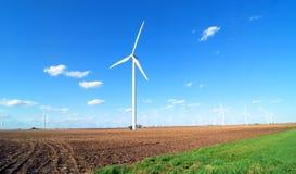 illustration isolerad wind för ström 3d Arkivbilder