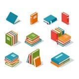Illustration isométrique de vecteur d'icône de livre illustration de vecteur