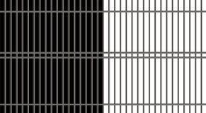 Illustration of jail bar Stock Photo