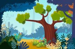 Illustration : Jardin ou parc urbain Images stock