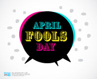 Illustration of a jester hat. April Fools Day. vector illustrati Stock Photos