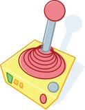 illustration joystick retro style toy Στοκ Εικόνα