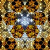 Illustration of a kaleidoscopic Pattern Royalty Free Stock Photos
