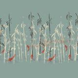 Illustration-Karpfen Stockfotos