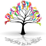 Kids tree Royalty Free Stock Photos