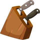 illustration knife vector Royalty Free Stock Photo