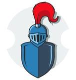 Illustration of knight armor Stock Photo